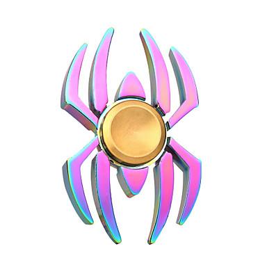 Hand Spinner Speeltjes Relieves ADD, ADHD, Angst, Autisme Speeltjes SPIDER Metaal Stuks Geschenk