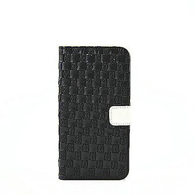 غطاء من أجل Samsung Galaxy حامل البطاقات محفظة مع حامل قلب غطاء كامل للجسم لون الصلبة قاسي جلد PU إلى Note 4