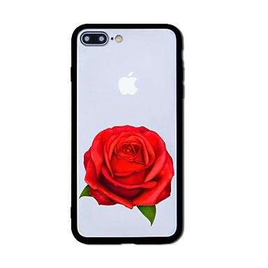 hoesje Voor Apple iPhone 7 Plus iPhone 7 Patroon Achterkant Bloem Hard Acryl voor iPhone 7 Plus iPhone 7 iPhone 6s Plus iPhone 6s iPhone