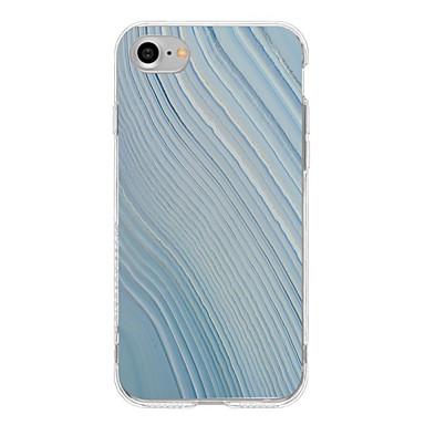 Iphone 7 iphone 6s plus coperta caz acoperire back cover case linii / valuri soft tpu pentru appleiphone 7 plus iphone 6 plus iphone 6s