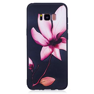 Hülle Für Samsung Galaxy S8 Plus S8 Muster Rückseite Blume Weich TPU für S8 Plus S8 S7 edge S7