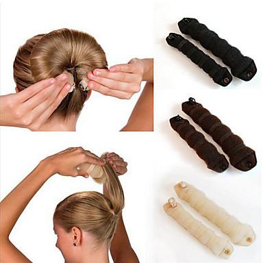 Stirnbänder Locken verstärkend Zopfgummi Klappbar Normal