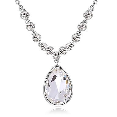 Dames Strengkettingen Sieraden Sieraden Kristal Legering Uniek ontwerp Modieus Euramerican Sieraden Voor Feest Anders >> Ceremonie