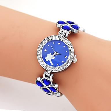للمرأة ساعات فاشن ساعة المعصم فريدة من نوعها الإبداعي ووتش ساعة كاجوال كوارتز أشابة فرقة سحر كوول عادية خلاق فاخرة أنيقةأسود الأبيض أزرق