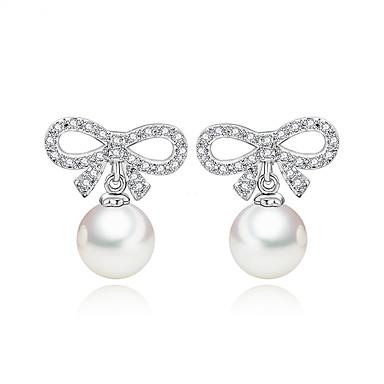 Pentru femei Cercei Stud Bijuterii Design Unic Modă Euramerican Perle Zirconiu Aliaj Bijuterii Bijuterii Pentru Nuntă Zi de Naștere