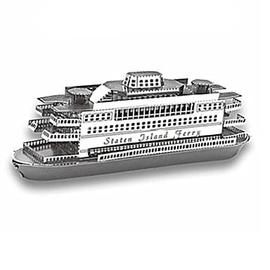 Puzzles 3D - Puzzle Bausteine Spielzeug zum Selbermachen Schiff Edelstahl Model & Building Toy