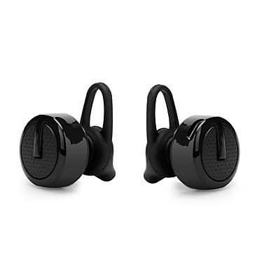 Cwxuan لاسلكي Headphones بلاستيك الهاتف المحمول سماعة مع التحكم في مستوى الصوت مع ميكريفون عزل الضوضاء سماعة