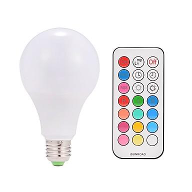 9W 600 lm Smart LED Glühlampen A80 38 Leds SMD 5050 Warmes Weiß RGB Wechselstrom 85-265V