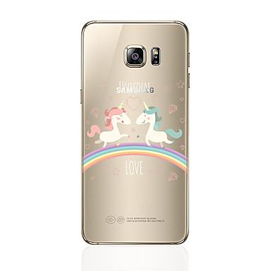 غطاء من أجل Samsung Galaxy S8 Plus S8 شفاف نموذج غطاء خلفي آحادي القرن ناعم TPU إلى S8 S8 Plus S7 edge S7 S6 edge plus S6 edge S6 S5 S4