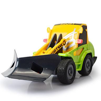 Jucării pentru mașini Vehicul Die-cast Jucarii Camion Vehicul de Construcție Excavator Jucarii Camion Stivuitor Excavator Plastice Aliaj