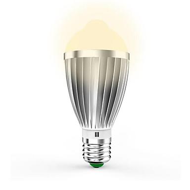 7W 650lm E26 / E27 Slimme LED-lampen G60 14pcs LED-kralen SMD 5630 Infrarood Sensor Licht controle Menselijke lichaamsensor Warm wit Koel