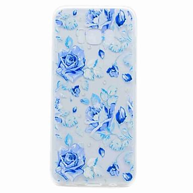 غطاء من أجل Samsung Galaxy S8 Plus S8 شفاف نموذج غطاء خلفي زهور ناعم TPU إلى S8 Plus S8 S7 edge S7 S6 edge S6 S5 Mini S5