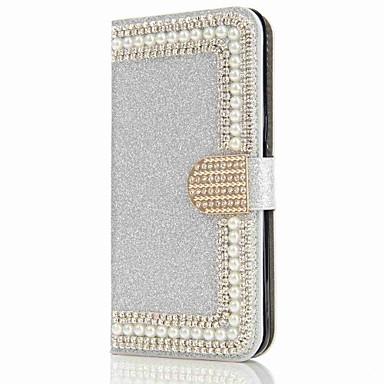 غطاء من أجل Samsung Galaxy S8 Plus S8 حامل البطاقات محفظة حجر كريم مع حامل قلب مغناطيس غطاء كامل للجسم قاسي إلى S8 Plus S8 S7 edge S7 S6
