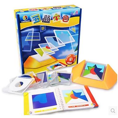 Steckpuzzles Spielzeuge Spielzeuge Quadratisch Kunststoff Stücke Unisex Geschenk