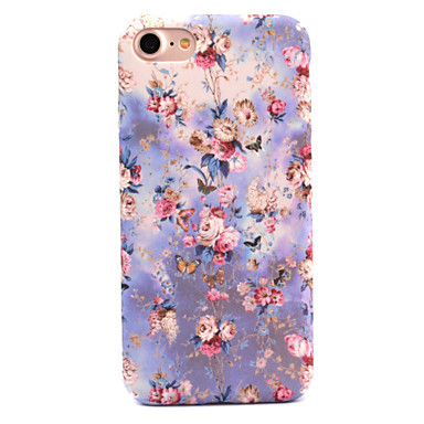 لتفاح إفون 7 7 زائد 6 ثانية 6 زائد حالة تغطية الزهور نمط صائق الجلد الرعاية اللمس بيسي المواد حالة الهاتف