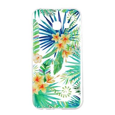 hoesje Voor Samsung Galaxy A5(2017) A3(2017) Patroon Achterkant Bloem Zacht TPU voor A3 (2017) A5 (2017) A5(2016) A3(2016)