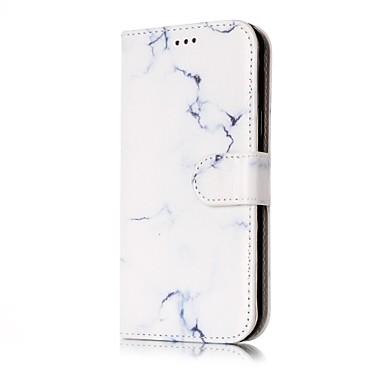 Maska Pentru Samsung Galaxy J7 (2016) J5 (2016) Titluar Card Portofel Cu Stand Întoarce Carcasă Telefon Marmură Greu PU piele pentru J7