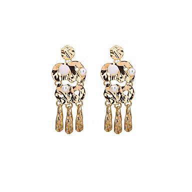 للمرأة أقراط قطرة مجوهرات هندسي عتيقة شخصية علاج المغناطيس euramerican في سبيكة Geometric Shape مجوهرات من أجلحزب عيد ميلاد مناسبة / حفلة