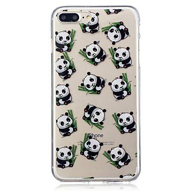 Voor apple iphone 7 7 plus 6s 6 plus 5s 5 panda patroon geschilderd hoge penetratie tpu materiaal imd proces zachte case telefoon hoesje