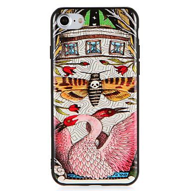 Fall für Apfel iphone7 7 plus Blumenschmetterlings-Tiermuster harter PC für iphone 6s plus 6 plus 6s 6