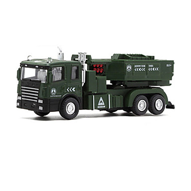 Jucării pentru mașini Jucarii Model Mașină Vehicul Militar Jucarii Muzică și lumină Rezervor Car de Război Aliaj Metalic Bucăți Unisex