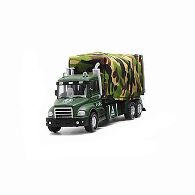 Speelgoedauto's Speeltjes Modelauto Legervoertuig Speeltjes Muziek en licht Tank Strijdwagen Metaallegering Stuks Unisex Geschenk