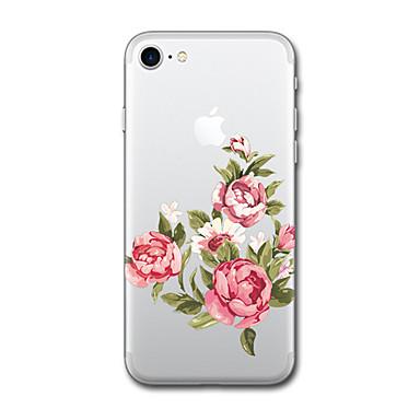Hülle Für Apple iPhone X iPhone 8 Muster Rückseitenabdeckung Cartoon Design Blume Weich TPU für iPhone X iPhone 8 Plus iPhone 8 iPhone 7