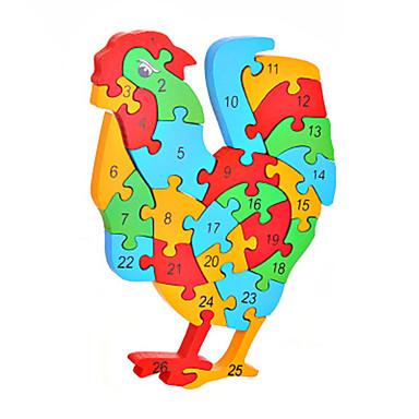 Puzzles Sets zum Selbermachen Bausteine Spielzeug zum Selbermachen Hühnchen