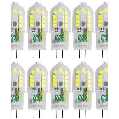 YWXLIGHT® 10 stuks 3W 300-400 lm G4 2-pins LED-lampen T 18 leds SMD 2835 Warm wit Koel wit Natuurlijk wit 12V