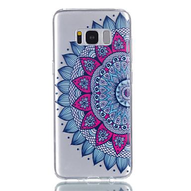 غطاء من أجل Samsung Galaxy S8 Plus S8 شفاف نموذج غطاء خلفي ماندالا نمط ناعم TPU إلى S8 S8 Plus S7 edge S7 S6 S5