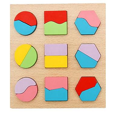 Lernkarten Steckpuzzles Für Geschenk Bausteine Quadratisch 1-3 Jahre alt Spielzeuge