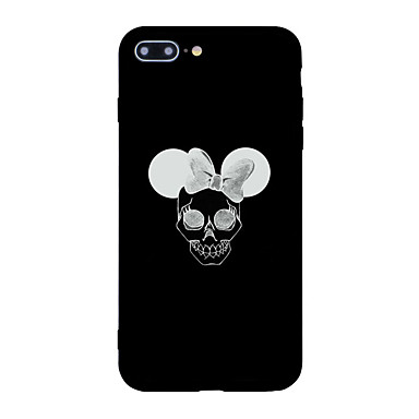 hoesje Voor Apple Patroon Achterkantje Doodskoppen Hard Acryl voor iPhone 7 Plus iPhone 7 iPhone 6s Plus iPhone 6 Plus iPhone 6s iPhone 6