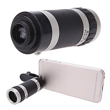 Universal 8x zoom portabil clip-on telefon mobil camera teleobiectiv telescop camera pentru iPhone 7 6s 6 5s 5c 5 4s itouch ipad samsung