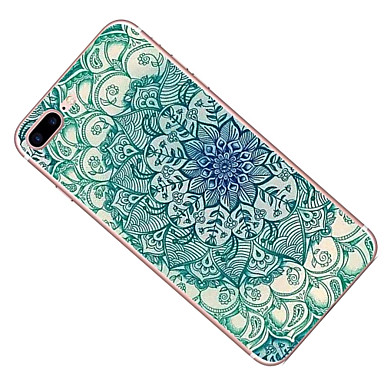 Fiori 7 disegno Mandala Apple retro Per iPhone Per iPhone 05951216 Custodia iPhone Morbido 7 7 per iPhone 6s Plus Plus iPhone 7 Plus Fantasia TPU FP7wq8Tn