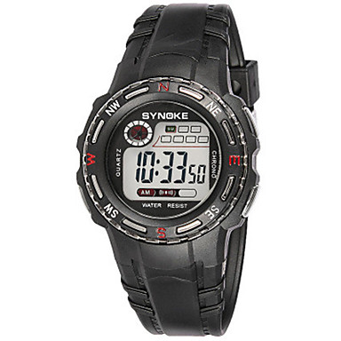 Heren Modieus horloge Digitaal Silicone Band Zwart