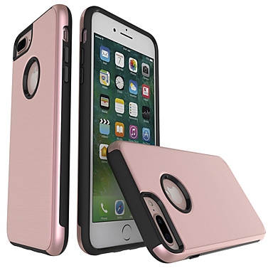Case For Apple iPhone 7 Plus iPhone 7 Shockproof Back Cover Solid Color Hard PC for iPhone 7 Plus iPhone 7 iPhone 6s Plus iPhone 6s