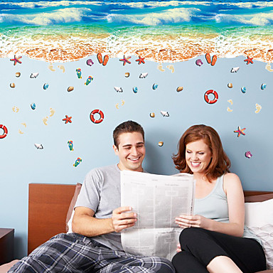 Animale Timp Liber Vacanță Perete Postituri Autocolante perete plane Autocolante de Perete Decorative 3D, Hârtie Pagina de decorare de