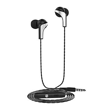 سماعات لانغسدوم R29 سماعات معدنية 3.5mm سماعات ستيريو و إفون هتس الدخن ضبط حجم الميكروفون