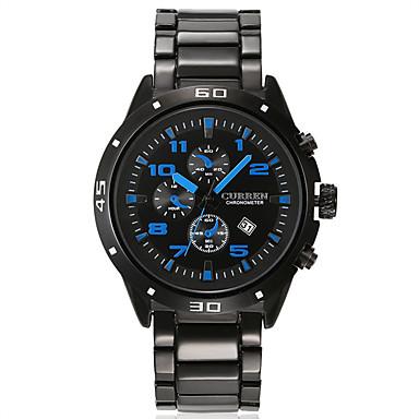 Herrn Armbanduhr Einzigartige kreative Uhr Sportuhr Kleideruhr Smart Watch Modeuhr Chinesisch Quartz Kalender Wasserdicht Großes