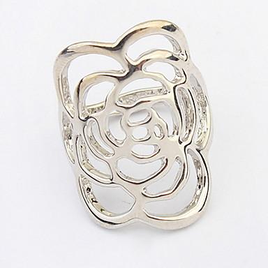 للرجال للمرأة خاتم مجوهرات مخصص زهري تصميم فريد ستايل الشعار كلاسيكي قديم بوهيميان أساسي بريطاني الولايات المتحدة الأمريكية أفريقيا بيان