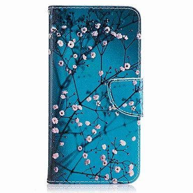 Pentru huawei p10 plus p10 lite capac portbagaj titular portofel cu stand flip model carcasă caz corp integral floare hard pu piele