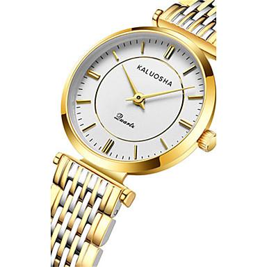 Dames Modieus horloge Kwarts Waterbestendig Legering Band Glitter Zilver Goud