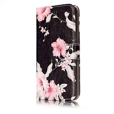 غطاء من أجل هواوي P9 لايت Huawei هواوي P8 لايت حامل البطاقات محفظة مع حامل قلب غطاء كامل للجسم زهور قاسي جلد PU إلى P10 Lite P10 Huawei