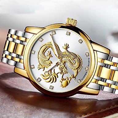Heren Dress horloge Modieus horloge Polshorloge Armbandhorloge mechanische horloges Unieke creatieve horloge Vrijetijdshorloge Japans