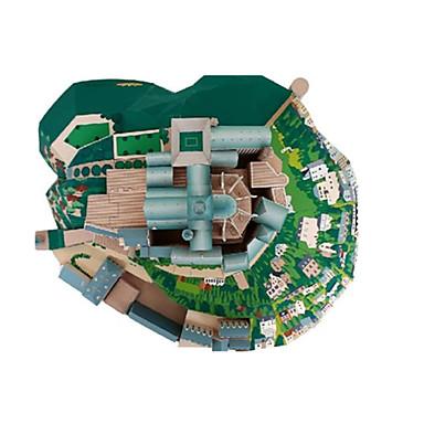 3D - Puzzle Papiermodel Papiermodelle Modellbausätze Burg Berühmte Gebäude Architektur Heimwerken Klassisch Unisex Geschenk