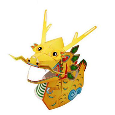 Puzzle 3D Modelul de hârtie Lucru Manual Din Hârtie Μοντέλα και κιτ δόμησης Animale Reparații Clasic Desen animat Pentru copii Băieți