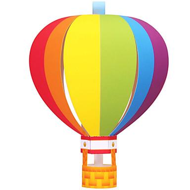 3D-puzzels Ballen Bouwplaat Ballonnen Papierkunst Modelbouwsets Rond Cirkelvormig Bol 3D DHZ Opblaasbaar Feest Verjaardag Klassiek Unisex