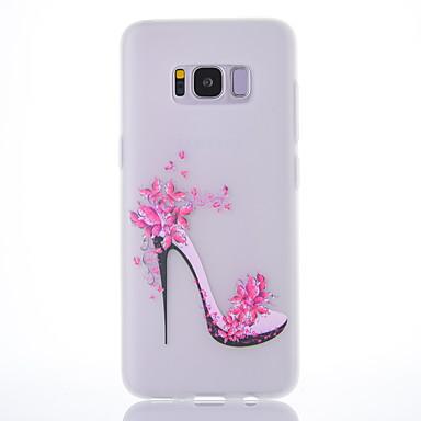 Maska Pentru Samsung Galaxy S8 Plus S8 Mătuit Translucid Model Capac Spate Femeie Sexy Moale TPU pentru S8 Plus S8