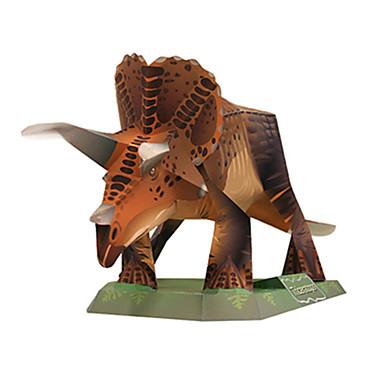 3D-puzzels Bouwplaat Modelbouwsets Vierkant Dinosaurus DHZ Hard Kaart Paper Klassiek Jongens Unisex Geschenk