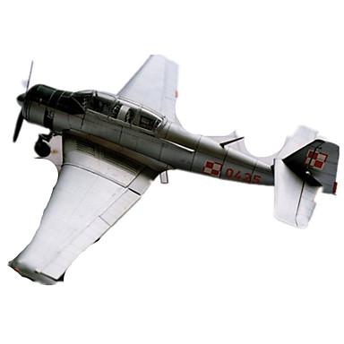 3D - Puzzle Papiermodel Modellbausätze Spielzeuge Quadratisch Flugzeug Heimwerken Hartkartonpapier keine Angaben Stücke
